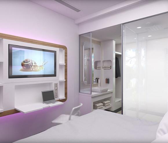 YOTELの客室はCABIN風デザインで面白そうです。