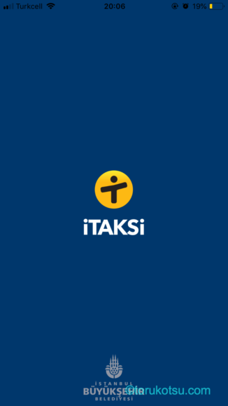 イスタンブール市のタクシーアプリi Taksi