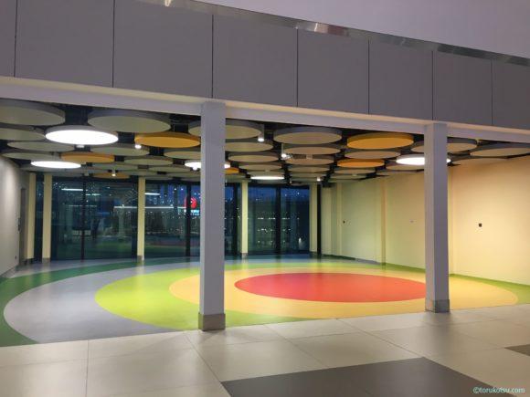 イスタンブール空港 Aゲートの子供スペース