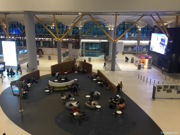 イスタンブール空港での休憩所