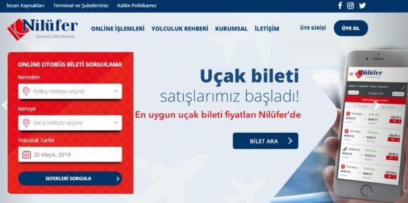トルコの長距離バス会社 Nilufer