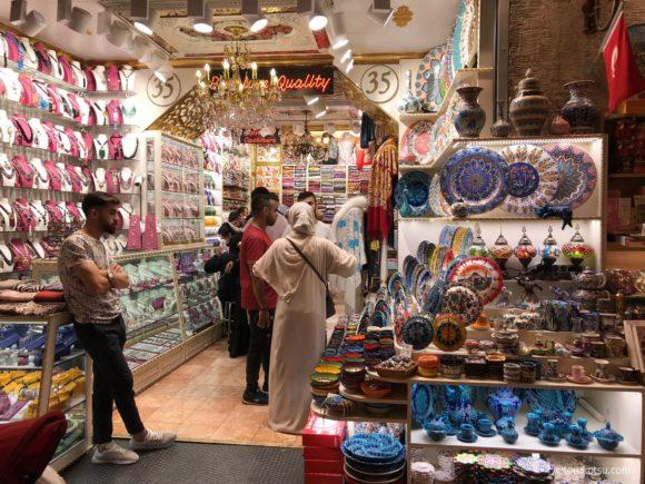 エジプシャンバザールの店