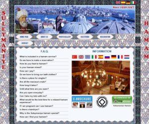 イスタンブールのハマム【Süleymaniye Hamamı】