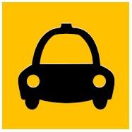 イスタンブールのタクシーアプリ「BiTaksi」のロゴマーク