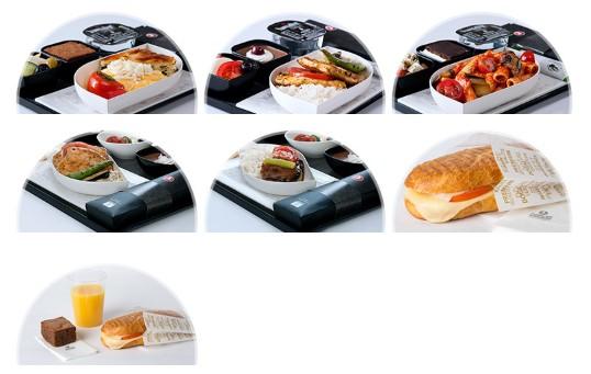 トルコ航空の機内食【国際線】