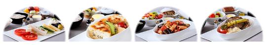 トルコ航空ビジネスクラスの機内食