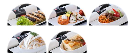 トルコ航空ビジネスクラス機内食