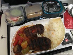 【ターキッシュエアラインズ】トルコ航空の機内食
