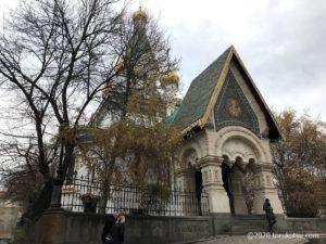 イスタンブールから行く!ブルガリア首都ソフィア観光【聖ニコライ・ロシア教会】