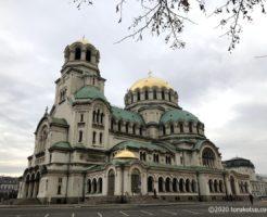 イスタンブールから行く!ブルガリア首都ソフィア観光【アレクサンダル・ネフスキー寺院