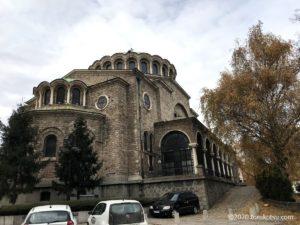 イスタンブールから行く!ブルガリア首都ソフィア観光【聖リデリャ教会】