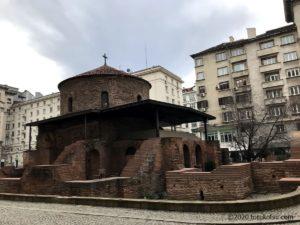 イスタンブールから行く!ブルガリア首都ソフィア観光【聖ゲオルギ教会】