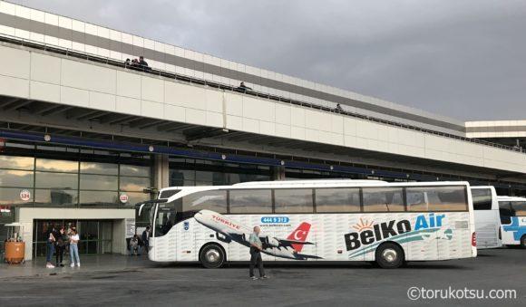 アンカラ観光参考写真【空港バスBelko Air】