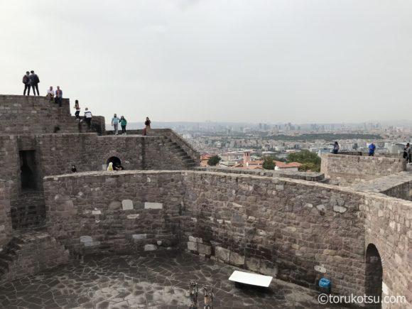 アンカラ観光参考写真【アンカラ城壁】