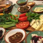 トルコの朝食【Çeşme Bazlama】