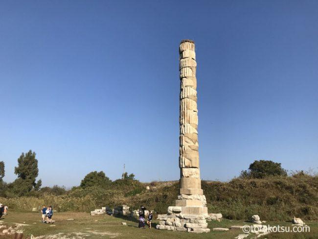 【世界遺産エフェソス観光】アルテミス神殿跡