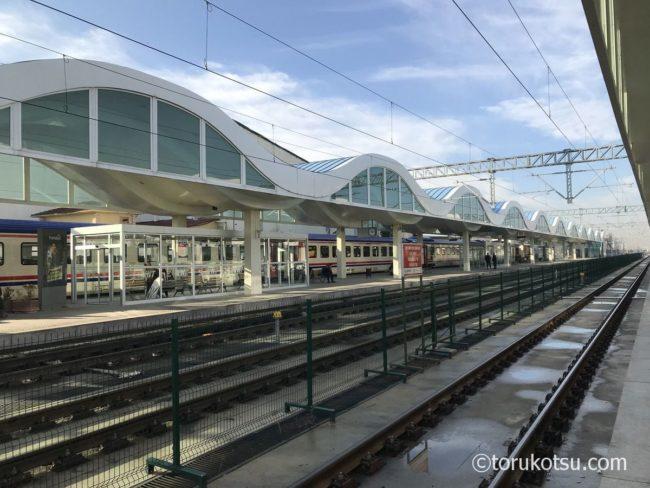 トルコ国鉄TCDDのエスキシェヒル駅