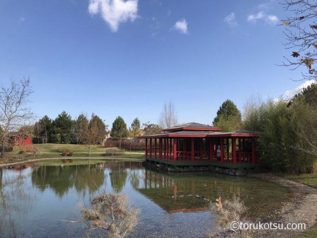 エスキシェヒルの日本庭園