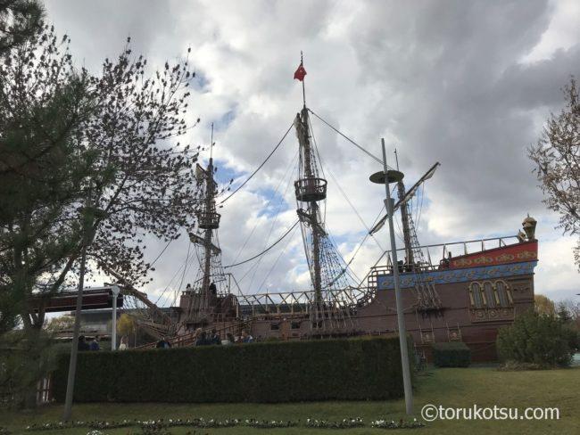 エスキシェヒルの海賊船