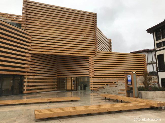 オドゥンパザル近代美術館の外観