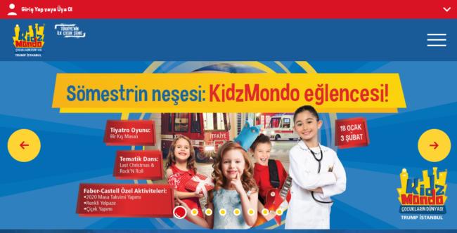 イスタンブールで子供が楽しめる場所!キッズモンド