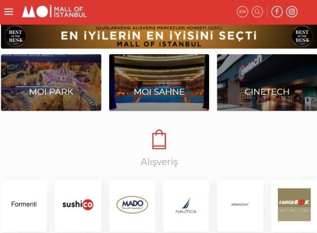 イスタンブールのショッピングモール【Mall of Istanbul】