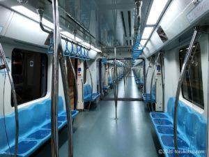 イスタンブールから夜行列車でソフィアへ【マルマライ鉄道の車両内】