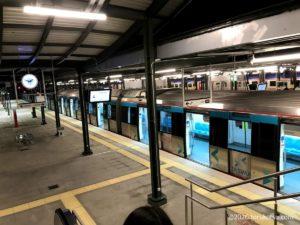 イスタンブールから夜行列車でソフィアへ【ハルカル駅】