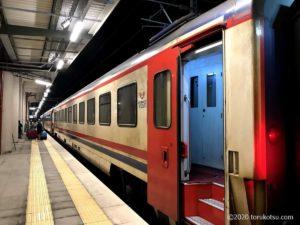 イスタンブールから夜行列車でソフィアへ【夜行列車の写真】