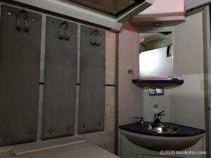 イスタンブールから夜行列車でソフィアへ【二等寝台列車(2人用)の室内】