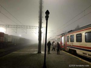 イスタンブールから夜行列車でソフィアへ【国境の駅カプクレ】