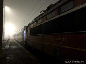 イスタンブールから夜行列車でソフィアへ【カプクレ下車時】